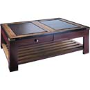 AMUSA Red Gallery Table