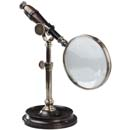 Authentic Models Magnifying Glass with Bronzed Stand