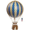 Authentic Models Blue Balloon Basket Mobile