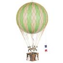 Authentic Models Green Balloon Basket Mobile