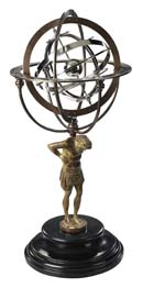 Authentic Models 18th Century Atlas Armillary