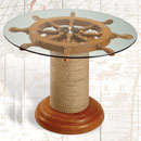Ship Wheel Nautical Table