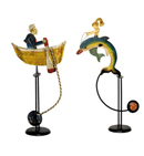 Authentic Models Mermaid and Salty Dog Balance Toys